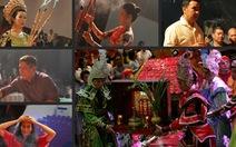 Sài Gòn cúng tổ sân khấu, lân trống rộn ràng