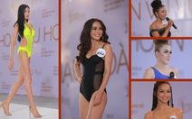 Xem Hoàng Thùy, Mai Ngô... bị nắn gân ở Hoa hậu Hoàn vũ Việt Nam