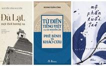 Sách 'phê bình' từ điển Nguyễn Lân đoạt giải Sách Hay 2017