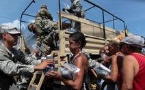 Nhà Trắng đề xuất chi 29 tỉ USD cho công tác cứu trợ sau bão Maria