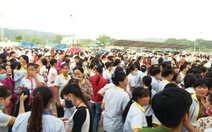 Công nhân Vina Thạch Thành tiếp tục đình công