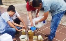 11/12 mẫu xăng ở Nghệ An không đạt chất lượng