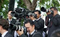 Quy định hoàng gia cho phóng viên ở lễ hỏa táng vua Thái