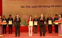 Thủ đô Hà Nội vinh danh 10 công dân ưu tú