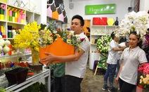 Dịp lễ 20-10, đặt hoa online tăng mạnh