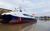 Hạ thủy tàu buýt cao tốc triệu đô do kỹ sư Việt Nam thiết kế