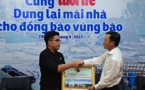 Công ty Vạn Thái trao hơn 153 triệu đồng hỗ trợ đồng bào vùng bão