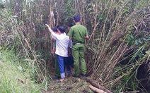 Bé gái 13 tuổi bị giết, giấu xác trong vườn hoang
