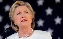 Bà Clinton không tranh cử nữa