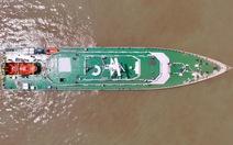 Hải quân tiếp nhận tàu tuần tra cứu nạn có sân đỗ trực thăng