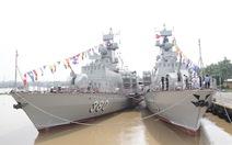 Thượng cờ 2 tàu tên lửa tấn công nhanh do Việt Nam đóng