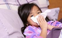 Độ ẩm môi trường cao, trẻ dễ mắc các bệnh về đường hô hấp