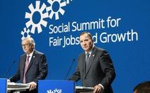 Châu Âu ra tuyên bố giải quyết các vấn đề xã hội