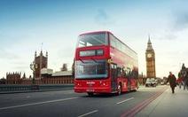 Xe bus chạy bằng xăng làm từ bã cà phê