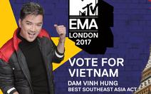 Đàm Vĩnh Hưng vào cuộc chiến giành ngôi vị tại MTV EMA 2017