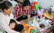 Trẻ bệnh hô hấp nhập viện tăng nhanh