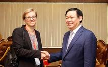 Phó thủ tướng tiếp đại diện sứ quán Đức ở ĐBSCL