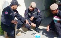 Phát hiện lựu đạn ở Bệnh viện Chợ Rẫy Phnom Penh