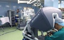 222 bệnh nhân được điều trị với robot phẫu thuật