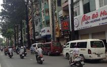 Xử lý nghiêm xe khách đậu lấn chiếm đường