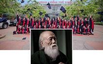 Cựu học sinh Lương Thế Vinh vĩnh biệt thầy Văn Như Cương