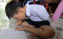 Cậu bé dị tật và ước mơ xây nhà cho trẻ khuyết tật