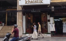Khaisilk thừa nhận có 50% lụa từ Trung Quốc