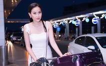 Khánh Ngân lên đường dự Miss Globe 2017 sau khổ luyện 7 tháng