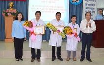 Khen thưởng các bác sĩ và bệnh viện Q.11