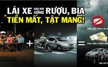 Uống rượu, bia xong, dùng code xe taxi miễn phí để về an toàn