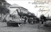 Đường phố Sài Gòn buổi ban đầu