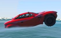 Clip: cách thoát chết khi xe bất ngờ lao xuống nước