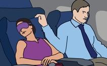 Đối phó các tình huống oái oăm trên máy bay