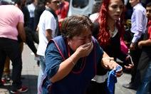 Động đất lớn ở Mexico, hơn 110 người chết
