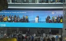 Tổng thống Nga Putin phát biểu tại lễ khai mạc Festival 19