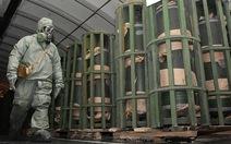 Từ nay, không còn vũ khí hóa học trên đất Nga