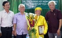 Hội Sử học Việt Nam vinh danh nhà nghiên cứu Nguyễn Đình Tư