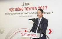 Học bổng Toyota -  Động lực giúp sinh viên thực hiện hoài bão