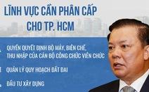 Bộ trưởng Đinh Tiến Dũng: 'Phân cấp mạnh để TP.HCM bứt phá'