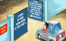 Từ chối đăng kiểm do chưa nộp phạt là trái luật