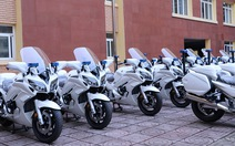 Yamaha bàn giao 35 chiếc xe mô-tô FJR1300P cho Bộ Công An