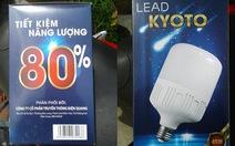 Lợi dụng thương hiệu bóng đèn Điện Quang để lừa bán hàng dỏm