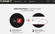 Mã độc Red Alert 2.0 ngụy trang thành các ứng dụng Adobe Flash