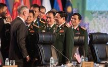 Bộ trưởng Quốc phòng Việt và Mỹ gặp nhau tại Philippines