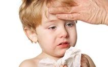 Phòng bệnh cho trẻ em khi thời tiết giao mùa