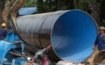 Lắp đường ống nước ngầm 3.465 tỉ băng sông Sài Gòn