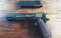 Hai nhóm thanh niên dùng súng, mìn tự chế hỗn chiến
