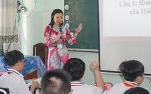 Cô giáo 'game show'