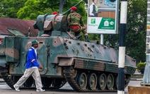 Nín thở chờ động tác tiếp theo của quân đội Zimbabwe