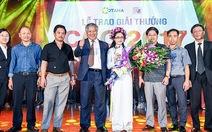 Nữ sinh ĐH Xây Dựng nhận giải thưởng trị giá 120 triệu đồng